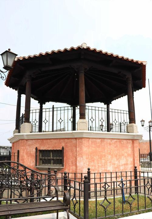parque central kiosco magdalena milpas altas